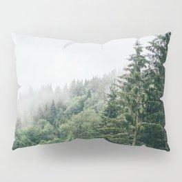 Mist Fog Forest Pillow Sham