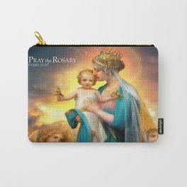 Our Lady of the Angels clouds Carry-All Pouch