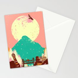 PORTLAND MOON Stationery Cards