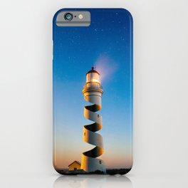 Twisted Lighthouse iPhone Case