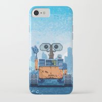 wall e iPhone & iPod Cases featuring Wall-e by LAckas
