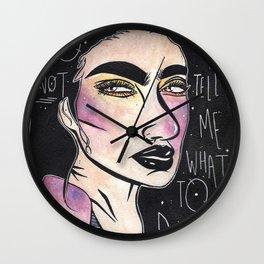 My Feelings Wall Clock
