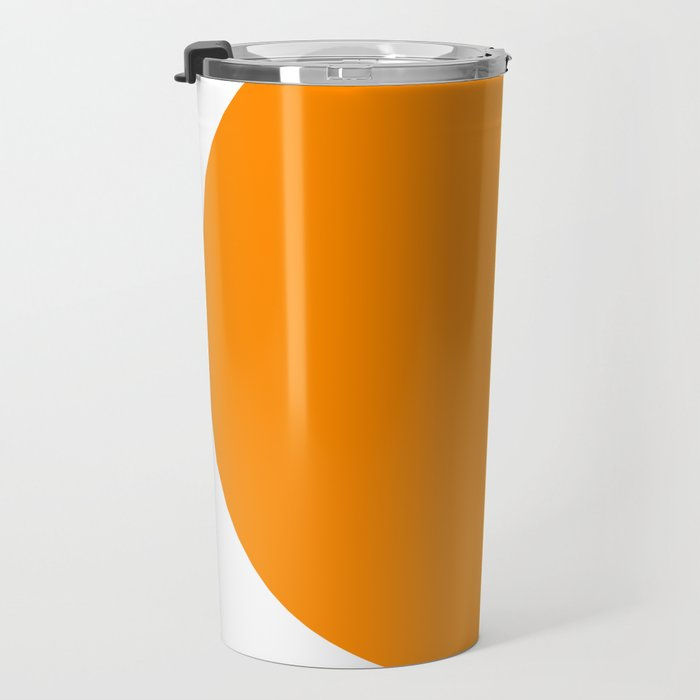American Orange Travel Mug