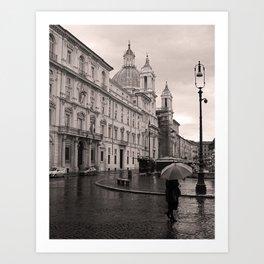 Piazza Navona, Rome, Italy Art Print