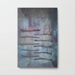 Ten Nails Metal Print