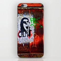 Back Alley Street Art iPhone & iPod Skin