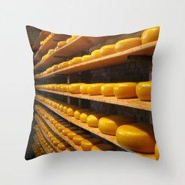 TheCheeze Throw Pillow