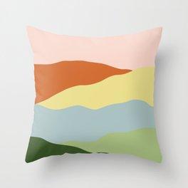 Ridge Meadow Throw Pillow