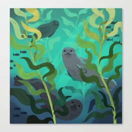 Kelp Forest Canvas Print