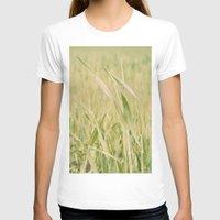grass T-shirts featuring Grass by Yolanda Méndez