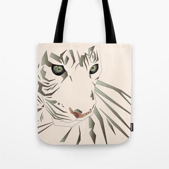 Tiger's Tranquility Tote Bag