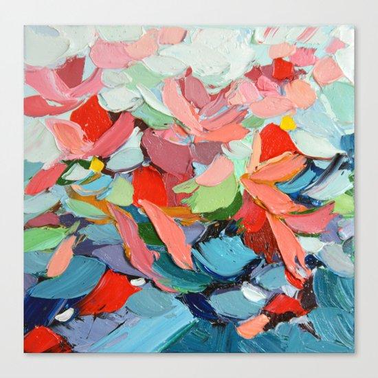 Winter's Bouquet Canvas Print