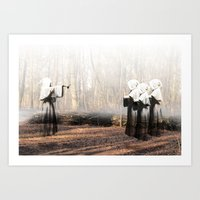 coven Art Prints featuring Coven by Infaustus