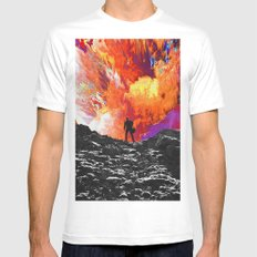 Simeó Mens Fitted Tee X-LARGE White
