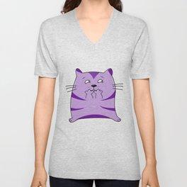 Fraidy Cat Unisex V-Neck
