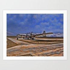 World War II B-29 Bomber Art Print