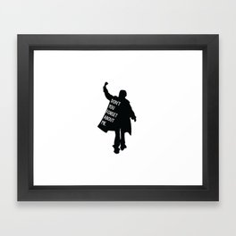 Breakfast Club 80s Framed Art Print