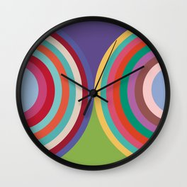PANTONE COLOR OF THE YEAR 19 YEARS - 2000 - 2018 -20 COLORS Wall Clock