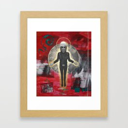Saint LeRoy of the Sacred Faceless Avatar Framed Art Print