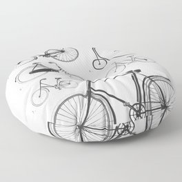 Collections - Bicyclettes Floor Pillow