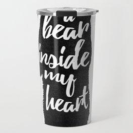 Bear Heart Travel Mug