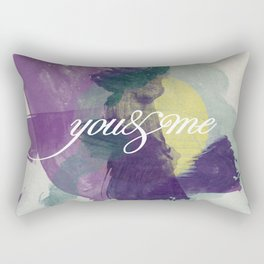 you&me Rectangular Pillow