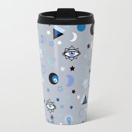 blue universe Travel Mug