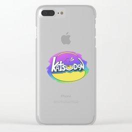 Katsudon Clear iPhone Case