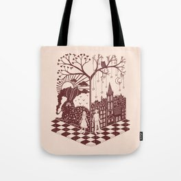 So close yet so far away Tote Bag