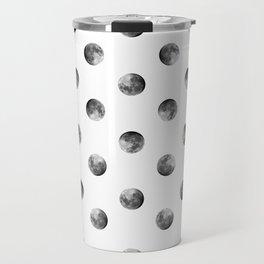 Lunar Moon - white Travel Mug