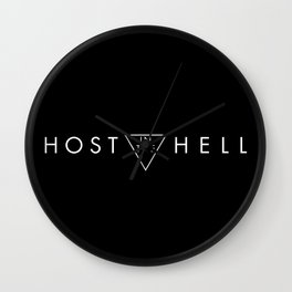 Host in the Hell Wall Clock