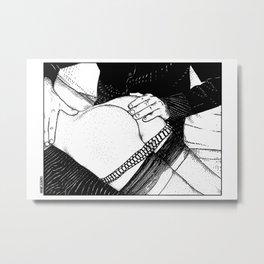 asc 488 - Les mains chaudes (Until his hands burn) Metal Print