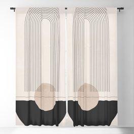 Geometric Shapes 49 Blackout Curtain