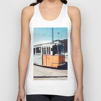 budapest Tank Tops featuring Budapest by Johnny Frazer