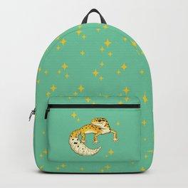 Sparkly Leopard Gecko Backpack