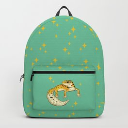 Sparkly Leopard Gecko Backpack
