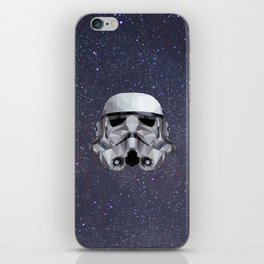 Low Poly Stormtrooper iPhone Skin