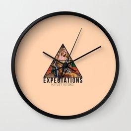 hayley exp Wall Clock