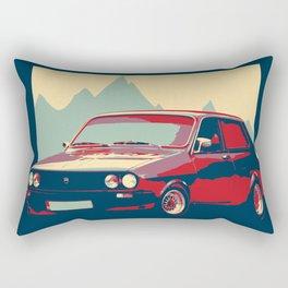 Dacia -Old classic Car Rectangular Pillow