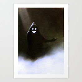Greeter Art Print