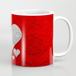 Heart Texture Coffee Mug