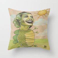 SUNSHINE DINO Throw Pillow