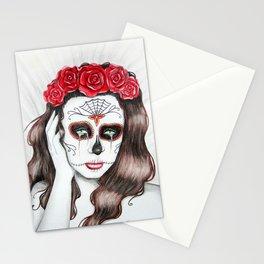 Lágrimas por mi amante muerto Stationery Cards