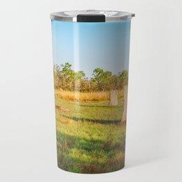 Magnetic termite Mounds in Litchfield National Park Travel Mug