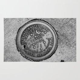 New Orleans Water Meter Rug