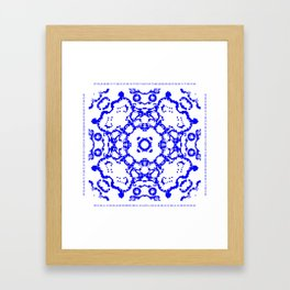 CA Fantasy Blue series #3 Framed Art Print