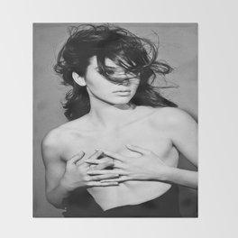 Kendall Jenner - 2014  Throw Blanket