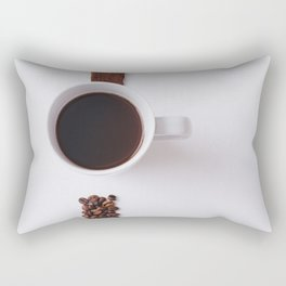 COFFEE - BEANS - CUP - PHOTOGRAPHY Rectangular Pillow