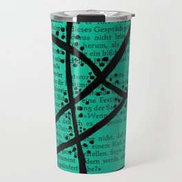 Literature Art Green Trees Travel Mug