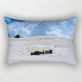 Pamukkale, Turkey Rectangular Pillow